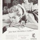 """1957 Listerine Ad """"""""halitosis"""""""""""