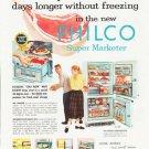 "1957 Philco Refrigerator Ad """"Keep meat fresh"""""