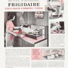 "1957 Frigidaire Ad """"Pull 'em down"""""