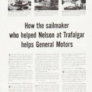 "1957 General Motors Ad """"sailmaker"""""