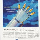 "1957 Borg-Warner Ad """"Fingers"""""