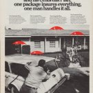 1967 TRAVELERS INSURANCE Ad