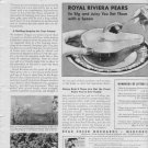 "1937 Bear Creek Orchards ""Rarest Fruit"" Advertisement"
