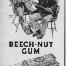"""1937 Beech-Nut Gum """"Worth Stopping For"""" Advertisement"""