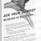 1937 Beech-Nut Oralgene Chewing Gum Advertisement
