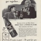 "1937 HIRES ROOT BEER ""GOOD FELLOWS"" Advertisement"