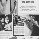 """1937 Lady Pepperell Sheets """"The Webbs"""" Advertisement"""