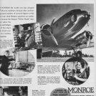 1937 MONROE CALCULATING MACHINE COMPANY Advertisement