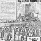 "1937 MONROE CALCULATOR ""DO FIGURES MARCH"" Advertisement"