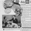 "1937 PILLSBURY CAKE FLOUR ""RUNNING WILD"" Advertisement"