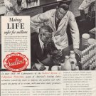 "1937 SEALTEST SYSTEM ""SAFER FOR MILLIONS"" Advertisement"