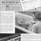 "1937 SEEBASCO ""FOOT YOUTH"" FOOT SOAP Advertisement"