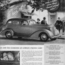 "1937 STUDEBAKER ""SMART AMERICA"" Advertisement"