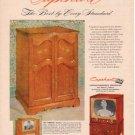 "1953 CAPEHART-FARNSWORTH TV ""THE BEST"" Advertisement"