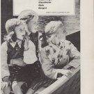 "1959 BRITISH EUROPEAN AIRWAYS Ad: ""TO SCANDINAVIA"""
