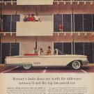 """1960 FORD MERCURY """"WORTH THE DIFFERENCE"""" Advertisement"""""""