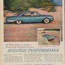 "1960 FORD THUNDERBIRD ""SPIRITED PERFORMANCE"" Advertisement"