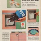 "1960 GENERAL ELECTRIC GE ""FILTER-FLO WASHER"" Vintage Advertisement"