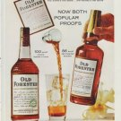 """1960 Old Forester Whisky """"Both Popular Proofs"""" Ad"""