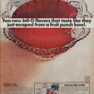 """1967 JELL-O """"TWO NEW FLAVORS"""" Advertisement"""