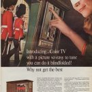 "1967 ZENITH COLOR TV Ad ""WHY NOT GET THE BEST"""