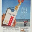 "1961 Tareyton Ad ""Tareyton delivers the flavor ..."""