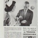 """1961 Anacin Ad """"What do Doctors do for Tense, Nervous Headaches?"""""""