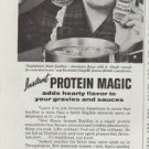 "1961 Steero Instant Bouillon Ad ""Oh you clever Americans!"""