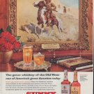 """1961 Sunny Brook Ad """"The great whiskey of the Old West"""""""