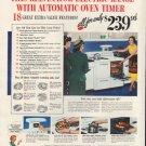 "1950 Kelvinator Ad ""Automatic Oven Timer"""