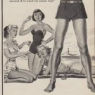 "1950 Listerine Antiseptic Ad ""One Vacation Hint He Didn't Take!"""