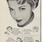 "1950 Halo Shampoo Ad """"Soaping"" dulls hair -- Halo glorifies it!"""