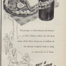 "1950 Grapette Soda Ad ""Thirsty Or Not Enjoy Grapette Soda"""