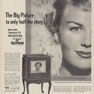 """1949 RCA Victor Ad """"The Big Picture is only half the story!"""""""