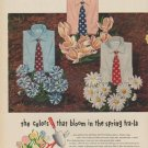 """1949 Van Heusen Ad """"the colors that bloom in the spring tra-la"""""""