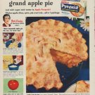 "1949 Apple Pyequick Ad ""Quick new way to make grand apple pie"""