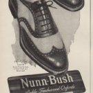 "1949 Nunn-Bush Ad ""Nylon Mesh ... Latest Nunn-Bush"""