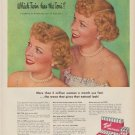 "1949 Toni Home Permanent Ad ""Which Twin has the Toni?"""