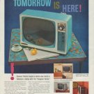 "1958 General Electric Ad ""Tomorrow Is Here!"""
