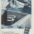 """1958 AC Spark Plug Ad """"Ahoy Captain"""""""