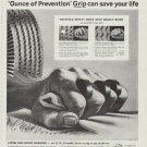 "1958 Armstrong Tires Ad ""Ounce of Prevention"""