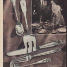 """1952 International Sterling Ad """"The perfect way"""""""
