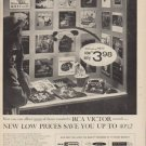 "1955 RCA Victor Ad ""New Low Prices"""