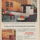 "1961 Weldwood Ad ""Far East or Far West"""