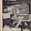 """1961 Panorama Ad """"Free Panorama Colorslide Projector"""""""