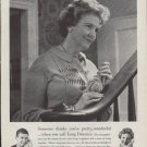 """1961 Bell Telephone Ad """"Someone thinks you're pretty wonderful"""""""