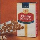 "1961 Philip Morris Ad ""cleanest tobacco"""