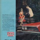 """1961 Pontiac Bonneville Ad """"Wide-Track makes it a great day"""""""