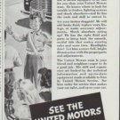 """1942 United Motors Ad """"Take Good Care Of Your Car"""""""