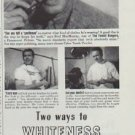 "1942 Calox Ad ""Mr. MacMurray knows the bright answer!"""